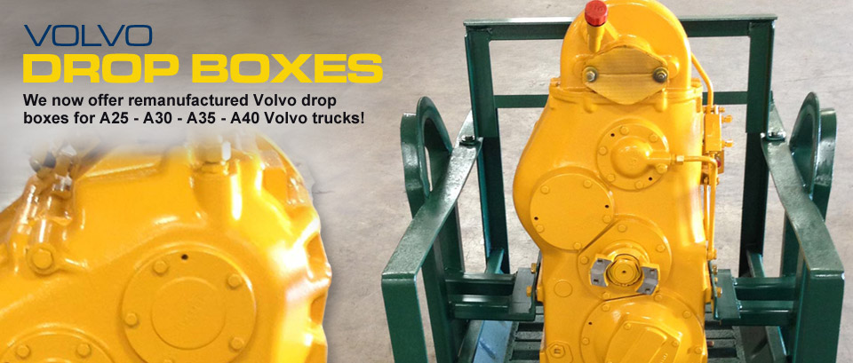 Volvo Remanufactured Drop Boxes
